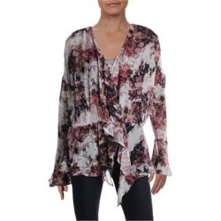 Iro Womens Floral Ruffled Blouse found on MODAPINS from Overstock for USD $206.39