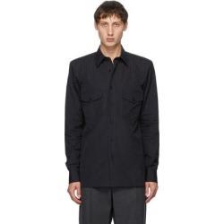 Black Padded Ballroom Shirt - Black - Dries Van Noten Shirts found on Bargain Bro from lyst.com for USD $459.80
