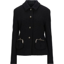 Suit Jacket - Black - Boutique Moschino Jackets found on MODAPINS from lyst.com for USD $580.00