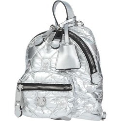 Backpacks & Fanny Packs - Metallic - Moschino Backpacks found on Bargain Bro from lyst.com for USD $272.84
