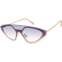 Martha Stewart Women's Sunglasses Rosegold - Cream Rose Goldtone Shield Sunglasses found on Bargain Bro from zulily.com for USD $15.19