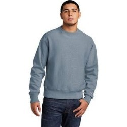Champion Men's Reverse Weave Fleece Crewneck Sweatshirt (M - Saltwater), Gray found on Bargain Bro Philippines from Overstock for $52.49