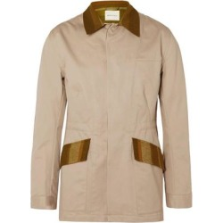 Overcoat - Natural - Nicholas Daley Coats found on MODAPINS from lyst.com for USD $259.00