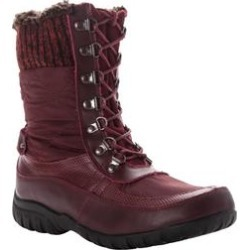 Women's Delaney Frost Wide Calf Boot by Propet in Bordo (Size 10 M) found on Bargain Bro Philippines from Woman Within for $104.99