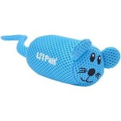 Li'l Pals Mesh Dog Toys, Mouse