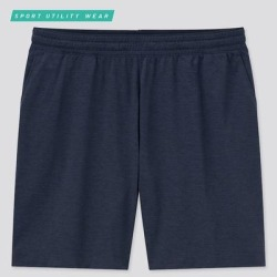 UNIQLO Men's Dry-Ex Ultra Stretch Active Shorts, Navy, M found on Bargain Bro India from Uniqlo for $24.90