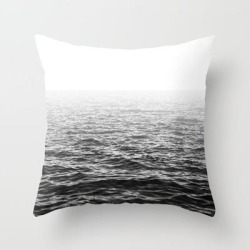 Couch Throw Pillow | Water Minimalism Photography Sea Waves And Ocean by Wildhood - Cover (16