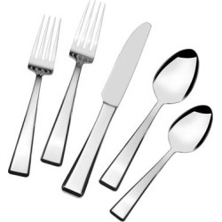Mikasa 18.10 Kirkland 20 Pc Flatware Set (Silver - Service for 4)(Stainless Steel) found on Bargain Bro Philippines from Overstock for $89.99