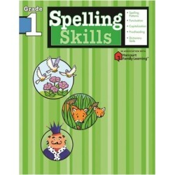 Flash Kids by Sterling Publishing Educational Workbooks - Spelling Skills: Grade 1 Workbook found on Bargain Bro from zulily.com for USD $4.40