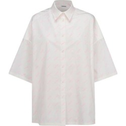 Women's Shirt Short Sleeve - White - Balenciaga Tops found on Bargain Bro from lyst.com for USD $595.84