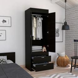 Alabama Armoire Darkbrown - FM Furniture CLW4756