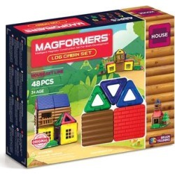 Magformers Toy Building Sets - Log Cabin Set found on Bargain Bro from zulily.com for USD $24.46