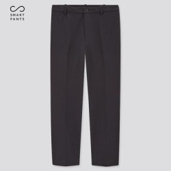 UNIQLO Men's Smart 2-Way Stretch Ankle-Length Pants (Tall) , Navy, XXL found on Bargain Bro from Uniqlo for USD $30.32