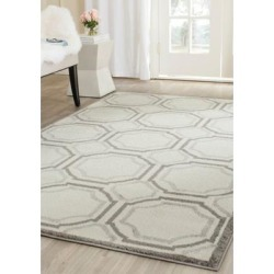 Safavieh Ivory/Light Grey Amherst Mosaic Area Rug Collection found on Bargain Bro Philippines from belk for $205.50