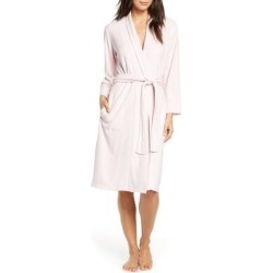 Sierra Brushed Terry Robe - Pink - Natori Nightwear found on Bargain Bro from lyst.com for USD $59.28