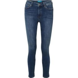 Denim Trousers - Blue - MiH Jeans Jeans found on MODAPINS from lyst.com for USD $68.00