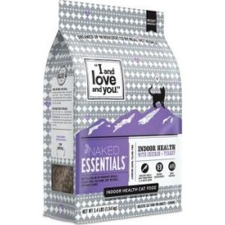 I and Love and You Naked Essentials Indoor Health Chicken & Turkey Recipe Dry Cat Food, 3.4-lb bag found on Bargain Bro Philippines from Chewy.com for $11.99