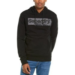 Superdry Camo International Hoodie (XL), Men's, Black(cotton) found on Bargain Bro India from Overstock for $36.29