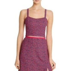 French Connection Womens Verona Crop Top Floral Sleeveless - Raspberry Sorbet Multi (2), Women's, Raspberry Pink Multi(polyester) found on MODAPINS from Overstock for USD $16.19