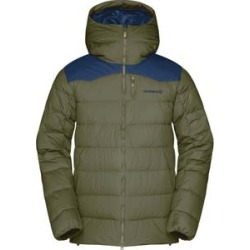 Norrona Active Insulation Jackets Tamok Down750 Jacket - Men's Olive Night Extra Large found on MODAPINS from campsaver.com for USD $349.00
