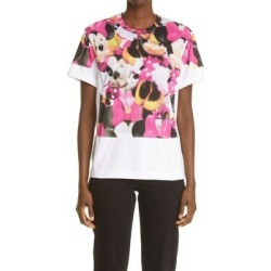 Comme Des Garçons Women's Graphic Tee - Pink - Comme des Garçons Tops found on MODAPINS from lyst.com for USD $360.00
