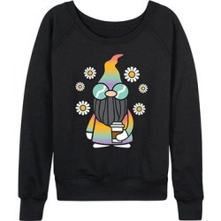 Instant Message Women's Women's Sweatshirts and Hoodies BLACK - Black Gnome Slouchy Pullover - Women & Plus found on Bargain Bro India from zulily.com for $24.99