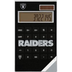 Las Vegas Raiders Diagonal Stripe Desktop Calculator found on Bargain Bro from nflshop.com for USD $22.79