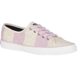 Sperry Top-Sider Women's Sneakers LILAC/OAT - Lilac & Oat Stripe Pier View Sneaker - Women found on Bargain Bro from zulily.com for USD $20.51