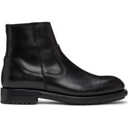 Black Markham Chelsea Boots - Black - Belstaff Boots found on MODAPINS from lyst.com for USD $375.00