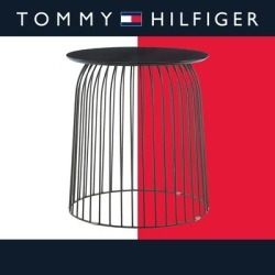 Tommy Hilfiger Wallace Accent Table found on Bargain Bro from Overstock for USD $76.26