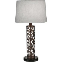 Stiffel Cathedral Laser Cut Oil-Rubbed Bronze Table Lamp found on Bargain Bro Philippines from LAMPS PLUS for $327.80