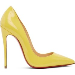 Yellow So Kate 120 Heels - Yellow - Christian Louboutin Heels found on Bargain Bro from lyst.com for USD $528.20