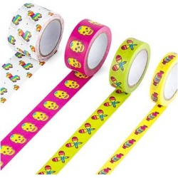 Mustard Measuring Tapes multi - Pinata Washi Tape found on MODAPINS from zulily.com for USD $7.99