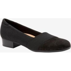 Women's Melinda Slip-On by Trotters in Black Snake (Size 11 M) found on Bargain Bro Philippines from Woman Within for $99.99
