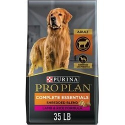Purina Pro Plan Adult Shredded Blend Lamb & Rice Formula Dry Dog Food, 35-lb bag found on Bargain Bro Philippines from Chewy.com for $49.98