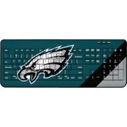 Philadelphia Eagles Diagonal Stripe Wireless Keyboard found on Bargain Bro from nflshop.com for USD $45.59
