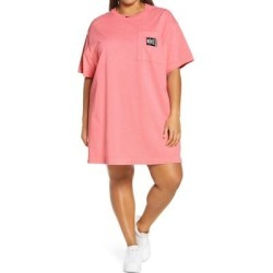 Sportswear T-shirt Dress - Pink - Nike Dresses found on Bargain Bro from lyst.com for USD $53.20