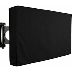 Khomo Gear Universal Weatherproof Protector TV Cover in Black, Size 23.5 H x 35.5 W x 4.5 D in   Wayfair GER-1047 found on Bargain Bro Philippines from Wayfair for $22.92