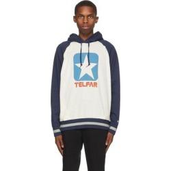 Off-white Converse Edition Logo Hoodie - Blue - Telfar Sweats