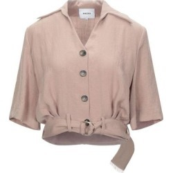 Shirt - Brown - Nanushka Tops found on MODAPINS from lyst.com for USD $229.00