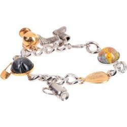 Bracelet - Metallic - Burberry Bracelets found on Bargain Bro from lyst.com for USD $224.20
