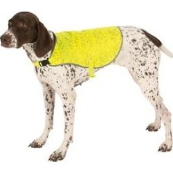 Ultra Paws Ultra-Reflective Safety Dog Vest, Small, Yellow found on Bargain Bro India from Chewy.com for $19.95