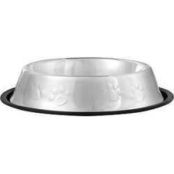 Frisco Non-Skid Stainless Steel Bowl, 4-cup found on Bargain Bro India from Chewy.com for $5.49