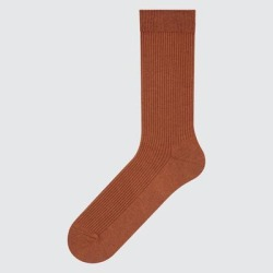 UNIQLO Men's Color Socks, Orange, 27-29cm found on Bargain Bro India from Uniqlo for $3.90