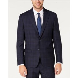 DKNY Mens Navy Single Breasted, Jacket 44R (Navy - 44R), Men's, Blue(Wool) found on Bargain Bro Philippines from Overstock for $137.68