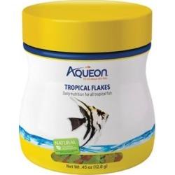 Aqueon Tropical Flakes Fish Food, 0.45 oz.