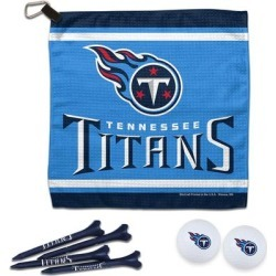 Tennessee Titans WinCraft Towel, Golf Balls & Tees Gift Set found on Bargain Bro from nflshop.com for USD $25.07