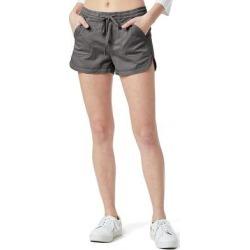 Juniors' Unionbay Maribeth Sateen Shorts, Girl's, Size: XS, Med Grey found on Bargain Bro from Kohl's for USD $22.79