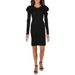 Splendid Womens Allston Mini Dress Puf f Rayon - Black (Black - L), Women's found on Bargain Bro from Overstock for USD $59.49