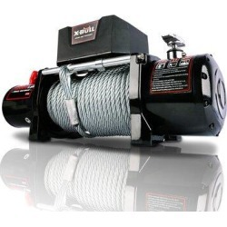 Focus-Furniture 12000Lbs Waterproof Steel Cable Electric Winch w/ Wireless Handheld Remote & Corded Control RecoveMetal   Wayfair FF-W71530100 found on Bargain Bro Philippines from Wayfair for $388.44